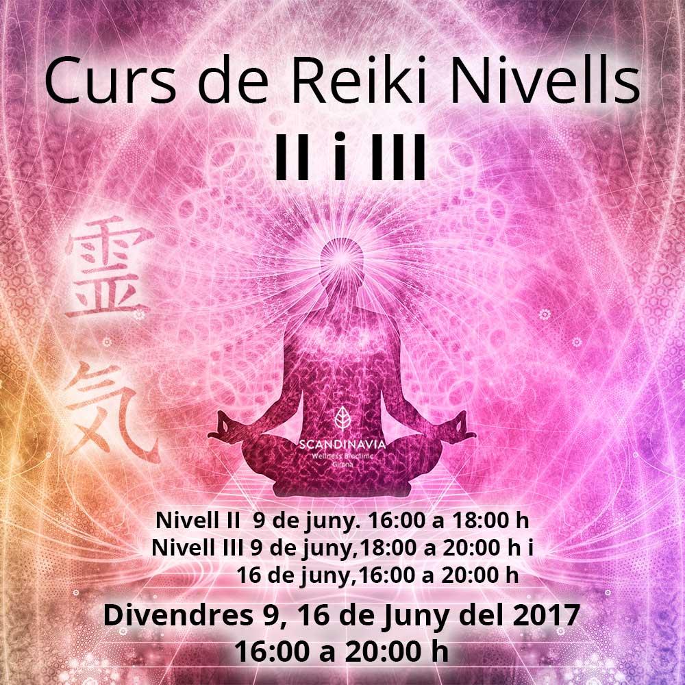 Curs de Reiki Nivells II i III troba el teu centre a Scandinavia Girona #reiki #scandinaviagirona