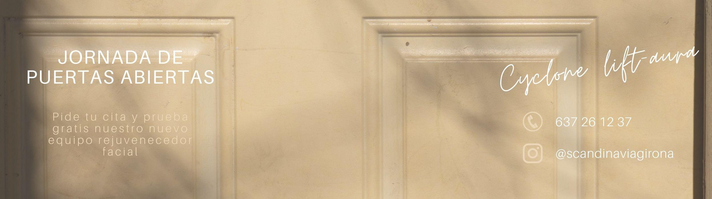 slider scandinavia girona puertas abiertas cyclone aura facial
